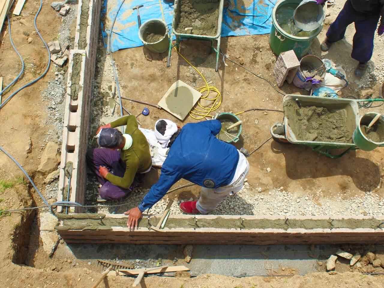 工事道具の画像