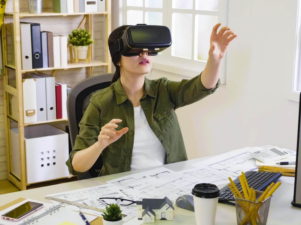 VRで作成した家の画像